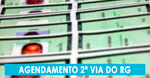 Agendamento da 2ª via do RG no Poupatempo