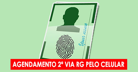 Agendamento da 2ª via do RG no Poupatempo pelo celular
